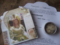 Angel Lavender Sugar & Recipe 'Letter' for Lavender Shortbread, comes in Noel themed handmade envelope. Great unique gift for Christmas. @PumpjackPiddlewick on Etsy