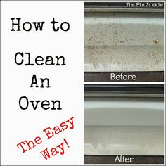How to clean a stove the easy way and with no chemicals!