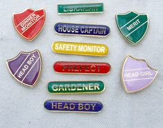 "Merit badges for the family... I keep hearing Percy from HP saying, ""But, I'm HEAD BOY!!"""