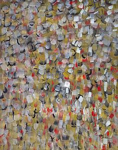 Mark Tobey.  Autumn Field - 1957 - another reason modern art is cool - this is 56 years old and could have been painted last week