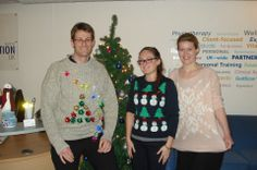 Christmas Sweater day at HQ