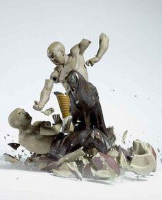 Porcelain Metamorphosis by Martin Klimas     «TwistedSifter