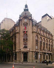 Santiago de Chile - Intendencia Metropolitana, sede del gobierno de la Región Metropolitana de Santiago.