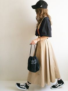 Beams Boy, Japanese Style, Simple Style, Brave, Midi Skirt, Tulle, Vintage Fashion, Sketch, Stockings