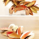 Kid Craft: Paper Leaf Thankfulness Garland