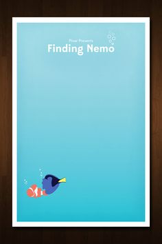 Pixar Presents Finding Nemo - Inspired by the Popular Film http://www.etsy.com/listing/124560334/pixar-presents-finding-nemo-inspired-by