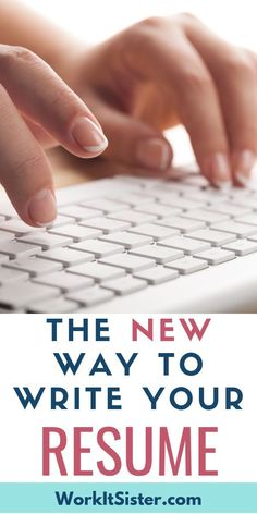 """The NEW Way to Write Your Resume to Get a Job Interview! Find out the new resume writing hacks to help you get your dream interview and job! This is more than just """"how to write a resume"""". Cover Letter Tips, Cover Letter For Resume, Cover Letters, Resume Tips, Job Resume, Business Resume, Resume Ideas, Job Search Websites, First Resume"""