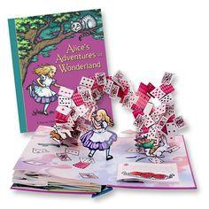C'era una volta - Libro pop-up di Benjamin Lacombe - Rizzoli 2015 - Recensione - Le avventure di Alice nel Paese delle Meraviglie di Robert Sabuda