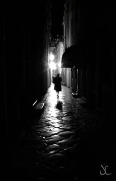 Noir Photography.late Night In Dubrovnik Canvas Print / Canvas Art by James…