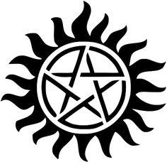 Anti-demon possession tattoo?  Maybe..
