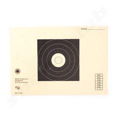 25 Zielscheiben BDMP Nr. 4 reduziert für 50m ZG 2 - ZG 3 - ZG 4 ---   Es handelt sich um eine Zielscheibe die beim BDMP für die Disziplinen ZG 2, ZG 3 und ZG 4 zugelassen ist. Die Scheibe wurde reduziert für das Schießen auf 50m.