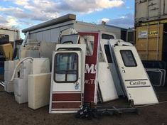 Arizona RV Salvage is a salvage RV yard with a retail store and used RV lot dedicated to the recreational vehicle industry. We specialize in low cost RV Parts, Toy Hauler Parts and hard to find RV and Trailer Salvage Parts. Rv Campers, Camper Trailers, Camper Parts, Travel Trailers, Rv Lots, Homemade Camper, Salvage Parts, Rv Financing, Used Rv