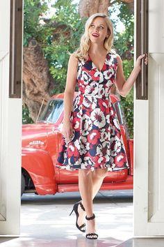 Reese Witherspoon wearing Draperj Ames Azalea-Dress
