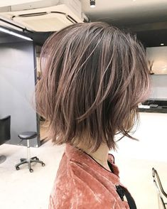 Pin on ヘアースタイル Beauty Nails, Hair Beauty, Korean Short Hair, Shot Hair Styles, Hair Photo, Hair Highlights, Medium Hair Styles, Hair Goals, Hair Inspiration