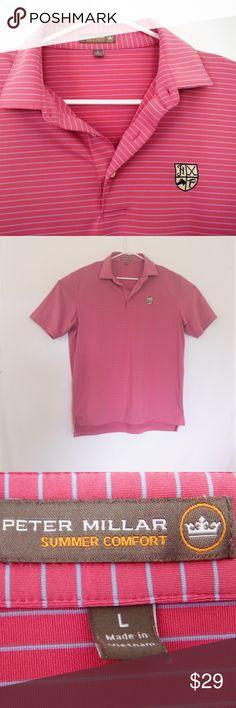 82d5f5ea17b NWOT Peter Millar Summer Comfort Golf Polo Shirt-L NWOT Mens Peter Millar  Summer Comfort
