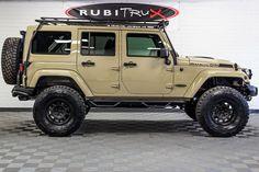 2017 Jeep Wrangler Rubicon Unlimited Firecracker Red