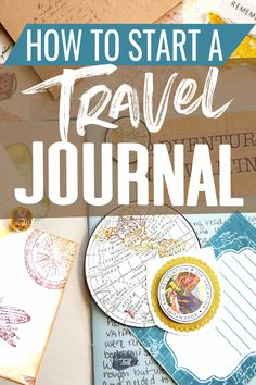 How to Start a Travel Journal A step by step guide on how to start a travel jou. How to Start a Travel Journal A step by step guide on how to start a travel journal from styles of Ways To Travel, Travel Advice, Travel Quotes, Travel Ideas, Travel Info, Travel Tips, Bullet Journal Travel, Travel Journal Pages, Travel Journals