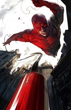 I think daredevil is one of the coolest superheroes ever, its a pity they haven't done another movie already Superhero Facts, Daredevil, Marvel Characters, Captain America, Deadpool, Darth Vader, Nerdy, Sci Fi, Capitan America