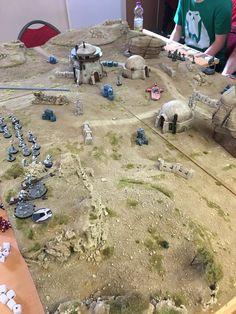 40k Terrain, Wargaming Terrain, Lead Adventure, Sci Fi Miniatures, Imperial Assault, Garage Makeover, Dark Star, Game Pieces, Tabletop Games