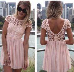 Light Pink Dress- for when I'm feeling girly :)