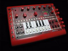 MATRIXSYNTH: x0xb0x Wildberry = TB 303 Synth + Sequencer + Mods...