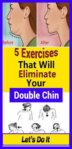 5 Exercises That Will Eliminate Your Double Chin Here are the 5 exercises that will help you say goodbye to your double chin! Health And Fitness Tips, Health Advice, Health And Beauty, Health And Wellness, Double Chin Exercises, Double Menton, Facial Exercises, Healthy Women, Weight Loss Inspiration