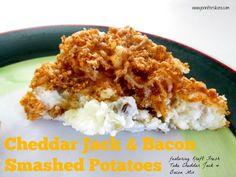 cheddar jack bacon mashed potatoes more bacon smashed smashed potatoes ...