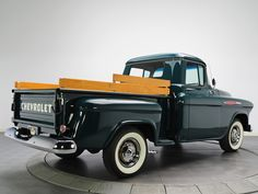 Cool 1957 Chevy Truck Free Wallpaper - 1957 Chevy Truck