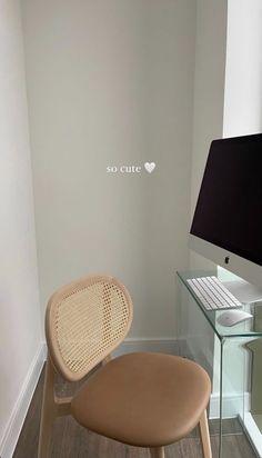 Home Room Design, Dream Home Design, Home Interior Design, House Design, Workspace Inspiration, Home Decor Inspiration, Ikea, Dream Apartment, My New Room