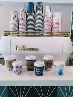 This would be so cute for a coffee shop!