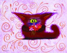 Apologetic Kitty - Cynthia Schmidt