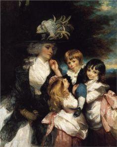 Sir Joshua Reynolds (1723-1792)     Lady Smith and Children  1787
