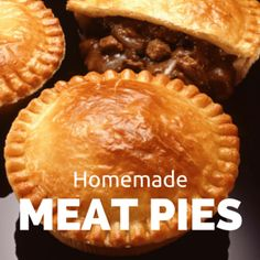 The Chew: Curtis Stone's Individual Meat Pies Recipe - Chef Curtis Stone came by The Chew to talk about his new book 'Good Food, Good Life' and to make a deliciously awesome Meat Pies recipe with Daphne Oz. The Chew Recipes, Meat Recipes, Cooking Recipes, Beef Dishes, Food Dishes, British Dishes, Good Pie, Good Food, Yummy Food