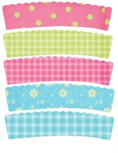 printable cupcake wrappers