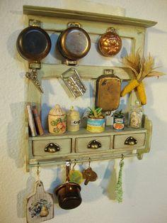 Reserved for  Kseniya miniature panel box por bagusitalyminiatures