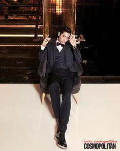 Eric from Shinhwa looking dapper.