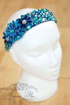 Irish Dance Tiara Headband / Sparkling Wedding / by AureusFlos