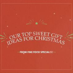 Do you have a sweet tooth? Here are some of our favourite sweet gifts for Christmas. Christmas Food Gifts, Christmas Cookies, Tasty, Yummy Food, Sweet Tooth, Food And Drink, Sweets, Recipes, Gourmet