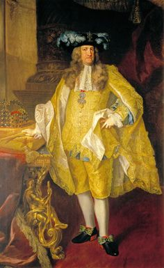 Carles III de Catalunya com a Carles VI Emperador del Sacre Imperi. Charles VI, Holy Roman Emperor, 1735 (Johann Gottfried Auerbach) (1685-1740) Location TBD