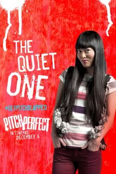 """Hana Mae Lee portrays the character of Lilly Onakuramara in the movie """"Pitch Perfect""""..... her character is priceless."""