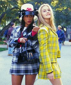 90's fashion rocked. As did every outfit in Clueless.