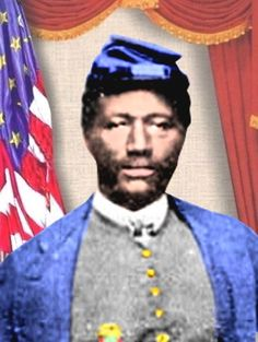 James H. Bronson (1838 – March 16, 1884) was a Union Army soldier during the American Civil War and a recipient of America's highest military decoration, the Medal of Honor.By the Battle of Chaffin's Farm on September 29, 1864, he had risen to the rank of first sergeant. Bronson's regiment was among a division of black troops assigned to attack the center of the Confederate defenses at New Market Heights.