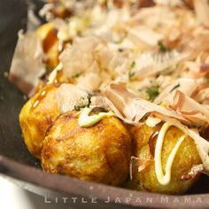 Perfect Takoyaki Recipe (little japan mama), plain flour = all-purpose flour