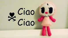 How to Make a tokidoki Ciao Ciao plushie tutorial