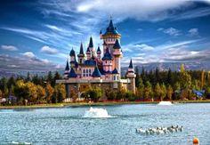 Fairy Tale Castle - Sazova Park - Eskisehir, Turkey