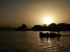 Passeios de barco em Udaipur, Índia