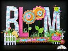 Doodlebug Design Inc Blog: Hello Sunshine: Bloom Altered Project by Jennifer Beason