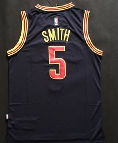 JR Smith Cleveland Cavaliers 5 PlayOff 2016 Mens Swingman Jersey Throwback  Blue Cavalier 06c6cb80a