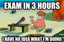 Every student knows this feeling