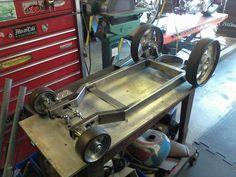 Start of welding cart